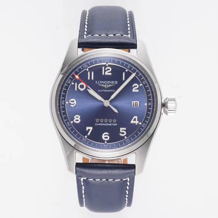顶级复刻浪琴先行者系列皮带自动机械手表
